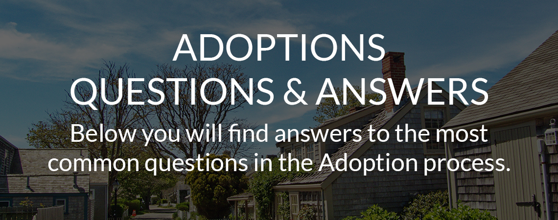 Adoptions Questions & Answers